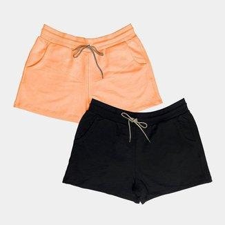 Kit c/ 2 Shorts Dooker Lisboa - Feminino