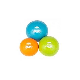 Kit C/ 3 Bolas Peso Heavy Tonning Ball 1kg/2kg/3kg Liveup