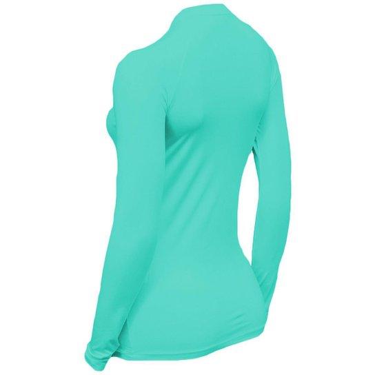 Kit C/ 3 Camisas Feminino Stigli Pro Proteção Solar FPU 50 Manga Longa Luna Poliamida E - Laranja