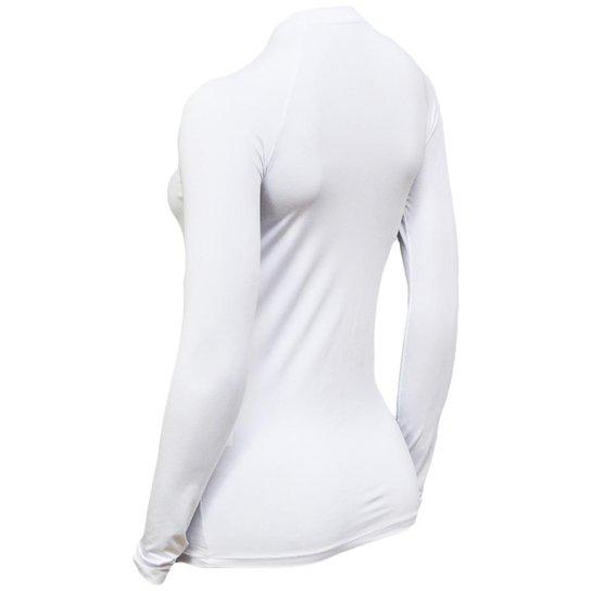 Kit C/ 4 Camisas Feminino Stigli Pro Proteção Solar FPU 50 Manga Longa Luna Poliamida N - Bege+Cinza