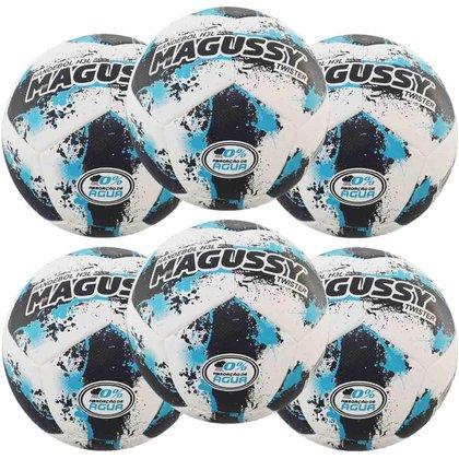 Kit C/ 6 Bolas Magussy Twister Handebol H3L