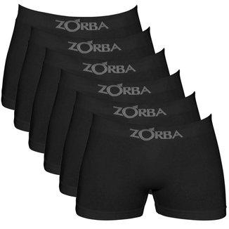 Kit c/ 6 Cuecas Zorba Boxer Seamless