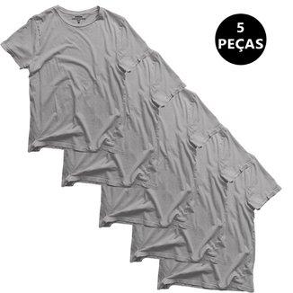 Kit c/5 Camiseta Dooker Básica - Masculina