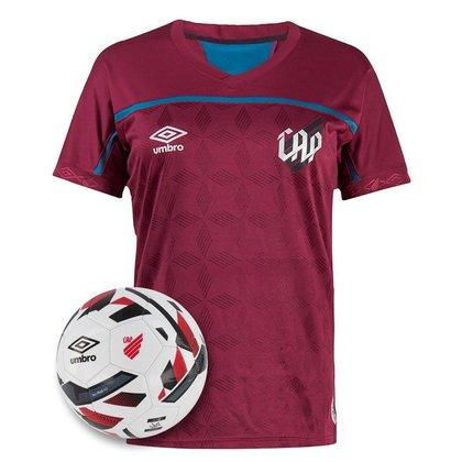 Kit Camisa Athletico Paranaense 2021 Third Umbro + Bola Oficial