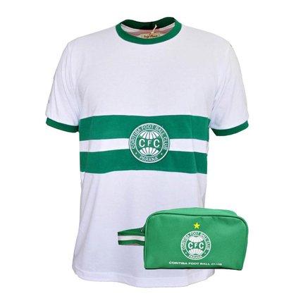 Kit Camisa Coritiba 1976 + Necessaire Oficial