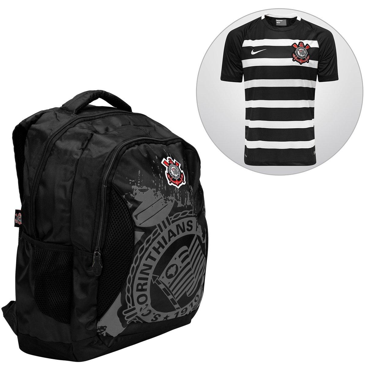 0d4f5f90b2b Kit Camisa Nike Corinthians II 15 16 s nº + Mochila Corinthians - Compre  Agora