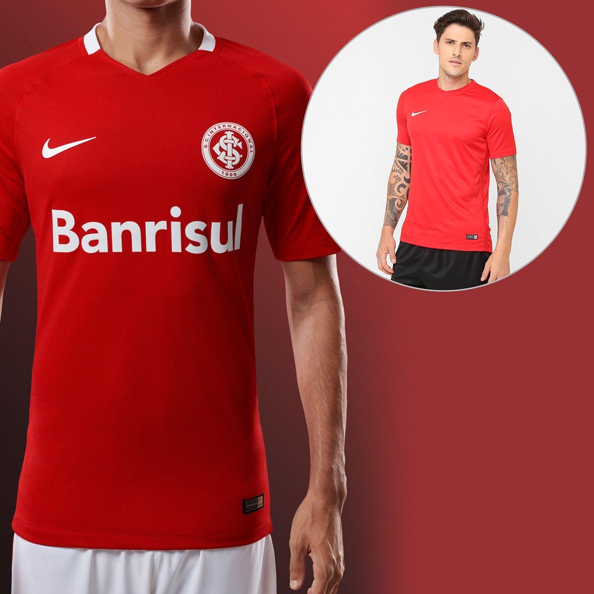 7b08a064a3bb5 Kit Camisa Nike Internacional I 2016 s/nº + Camisa Nike Park 6 | Netshoes