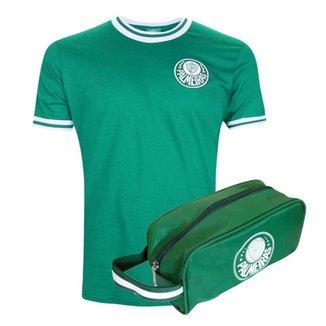 Kit Camisa Palmeiras Retrô Vintage 1973 + Necessaire Oficial