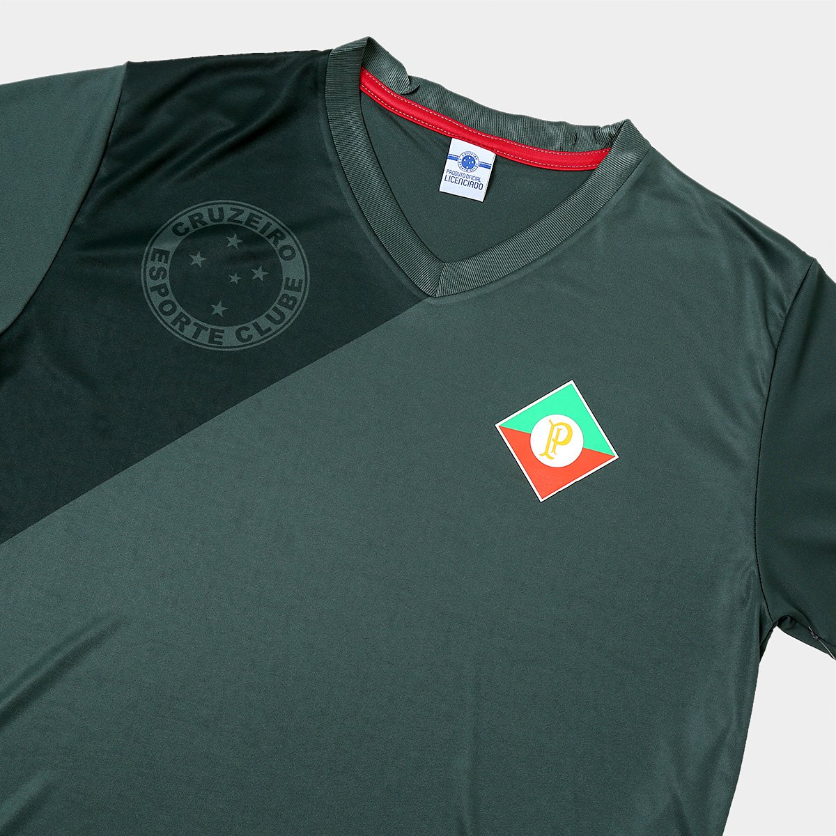 ... Kit Camisa Retrô Cruzeiro Palestra Itália + Camisa Retrô Cruzeiro s nº  Masculina ... 2404dfec93b09