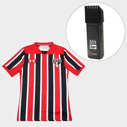e7712171b Kit Camisa São Paulo II 17 18 s nº Jogador Under Armour Masculina + Maquina  Retrô Gama Italy Bivolt - Compre Agora