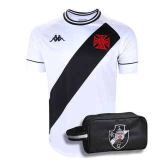 Kit Camisa Vasco 2021 Away + Necessaire Oficial