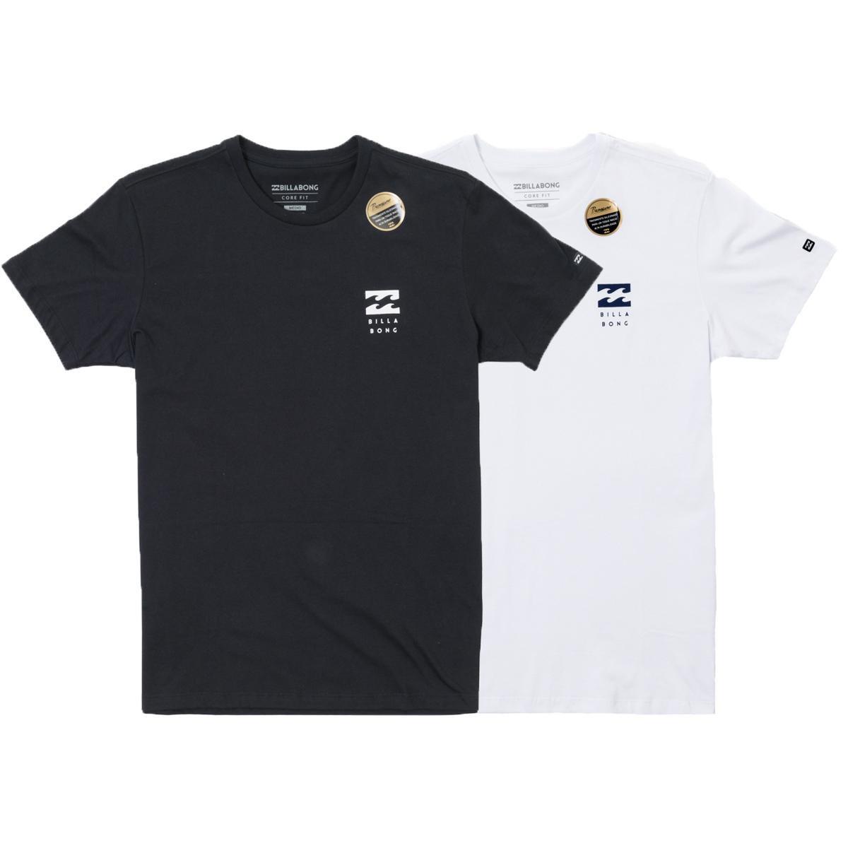 6ac914e4c58d6 Kit Camiseta Billabong 2 Peças D Bah Masculina - Compre Agora