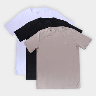 Kit Camiseta Rainha Classic Training II c/ 3 Peças Masculina