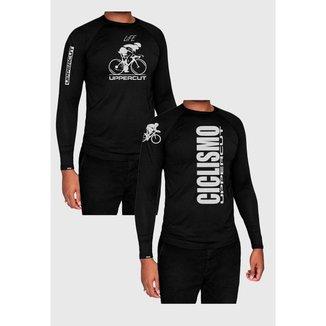 Kit Camiseta Térmica Uppercut Proteção Uv50 2 Peças Masculina