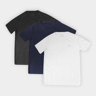Kit Camisetas Rainha Classic Training I c/ 3 Peças Masculino