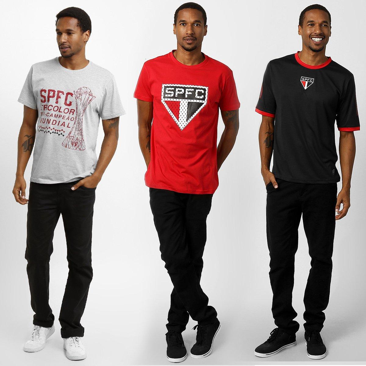 Kit Camisetas São Paulo Futebol Clube - Compre Agora  c2060fa4e069c