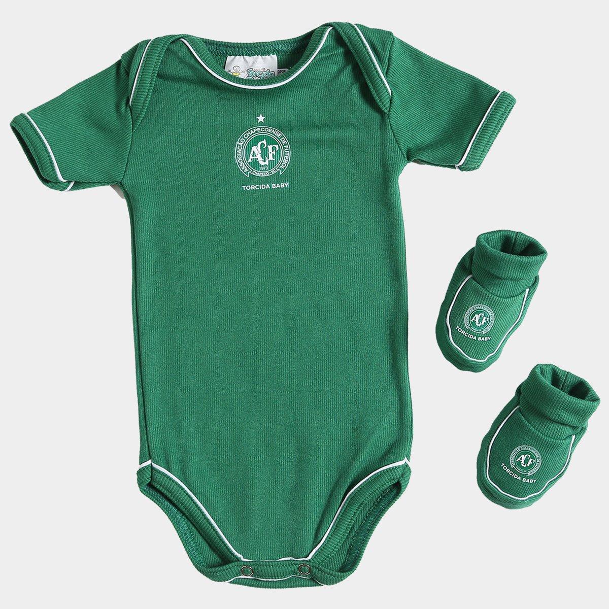 9075f00c42 Kit Chapecoense Infantil Torcida Baby - Compre Agora