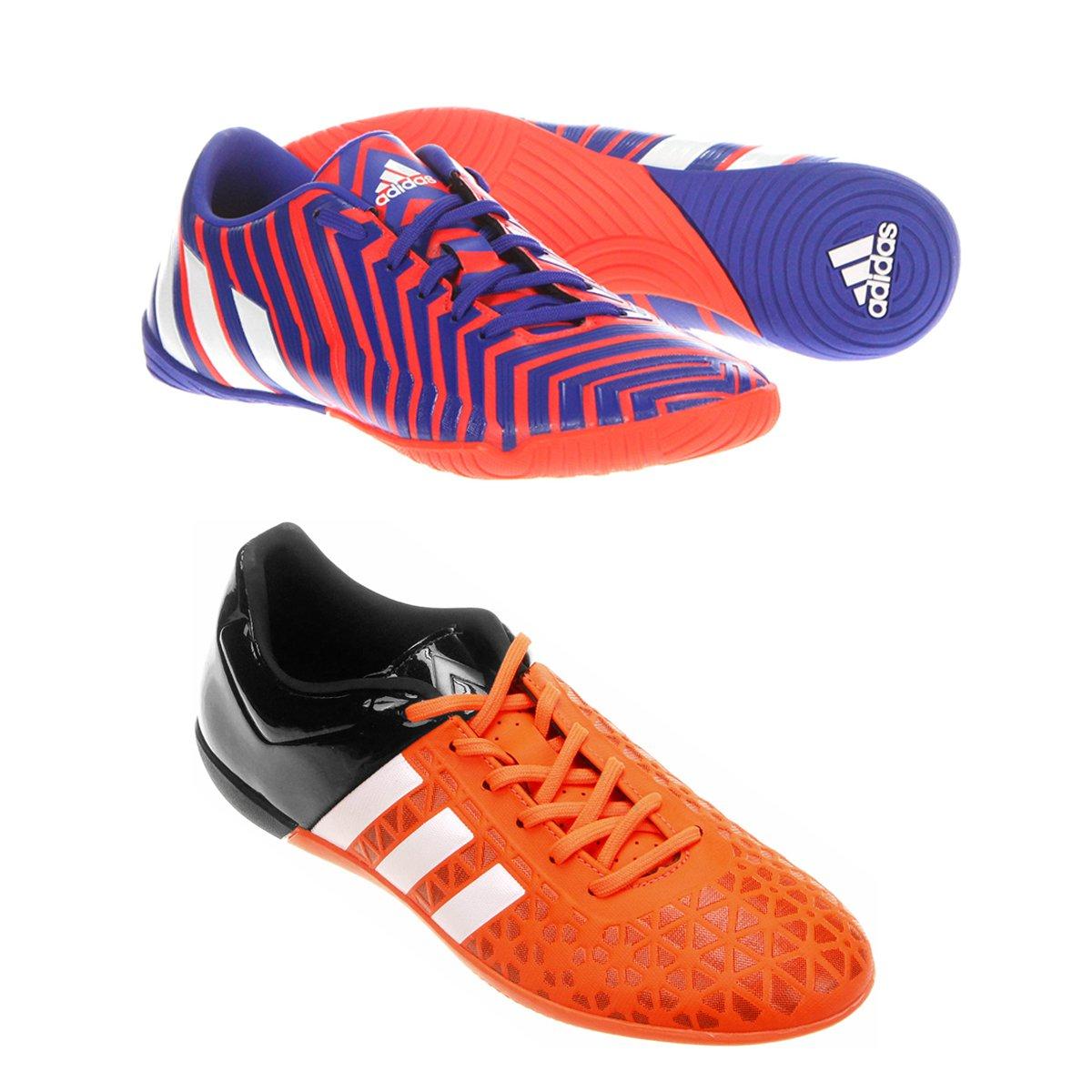 kit Chuteira Adidas Ace 15 3 IN Futsal + Chuteira Adidas Absolado Instinct  IN Futsal - Compre Agora  a31190ea67217