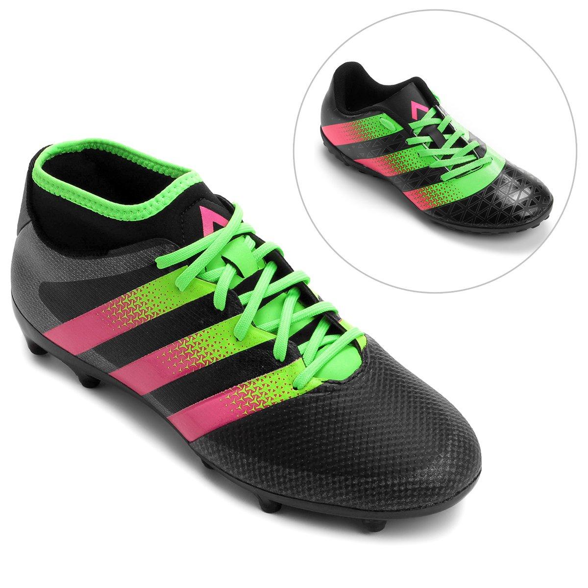 Kit Chuteira Adidas Artilheira TF Society + Chuteira Adidas Ace 16.3  Primemesh FG Campo - Compre Agora  637d0d8d086e8