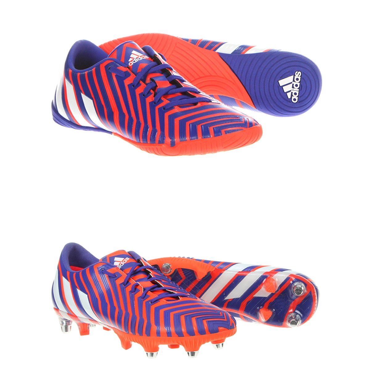 adb80689fab92 Kit Chuteira Adidas Predator Instinct SG Campo + Chuteira Adidas Absolado  Instinct IN Futsal - Compre Agora