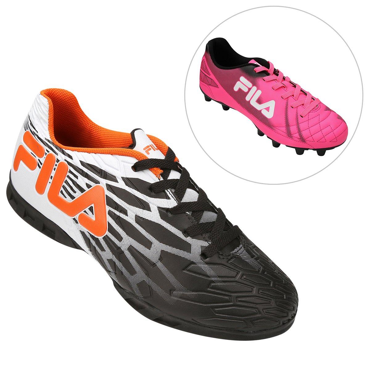 d9cf204b04 Kit Chuteira Fila Snap Futsal + Chuteira Fila Classic FG Campo - Compre  Agora