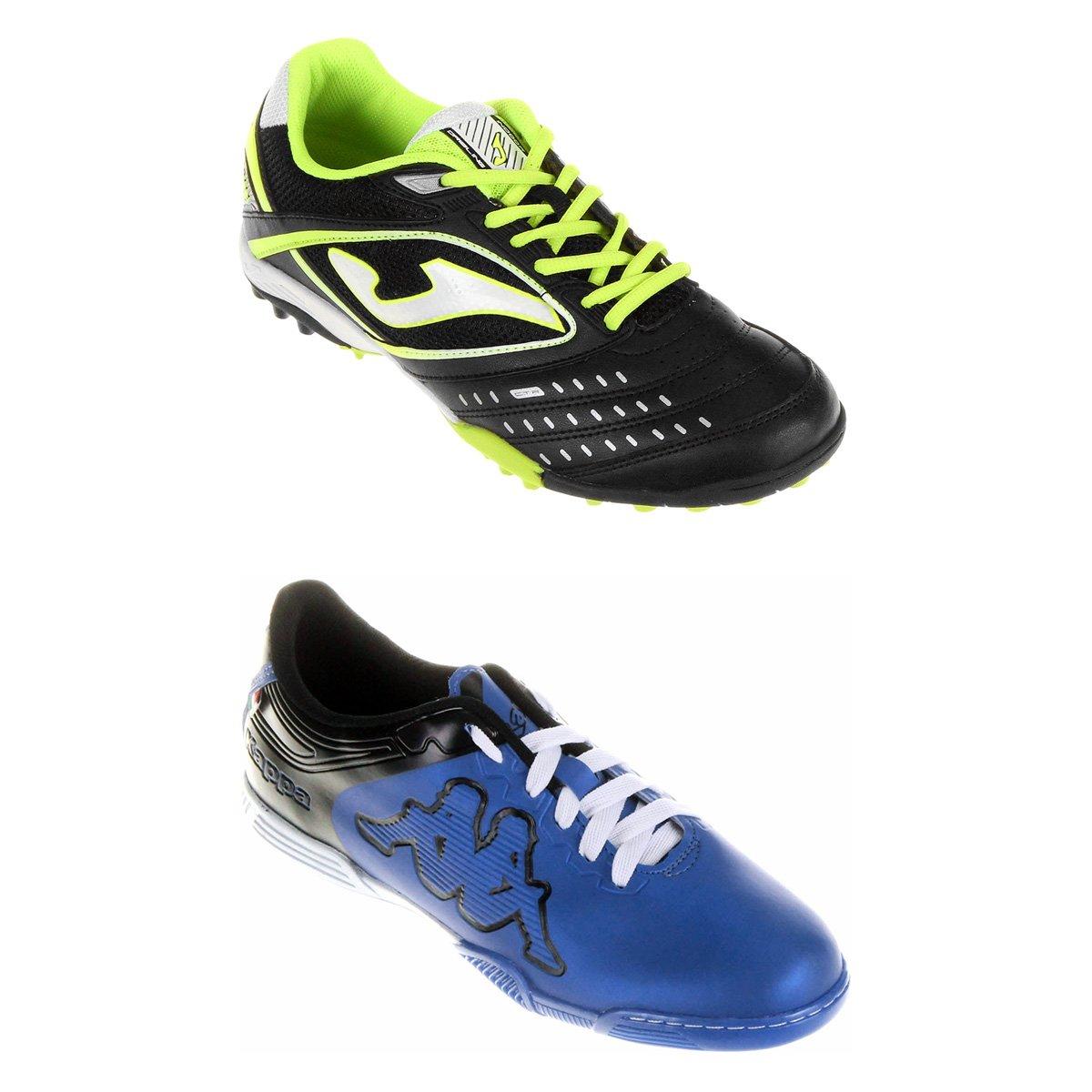 0e53dc5039 Kit Chuteira Joma Dribling Society + Chuteira Kappa Fuerza Futsal ...