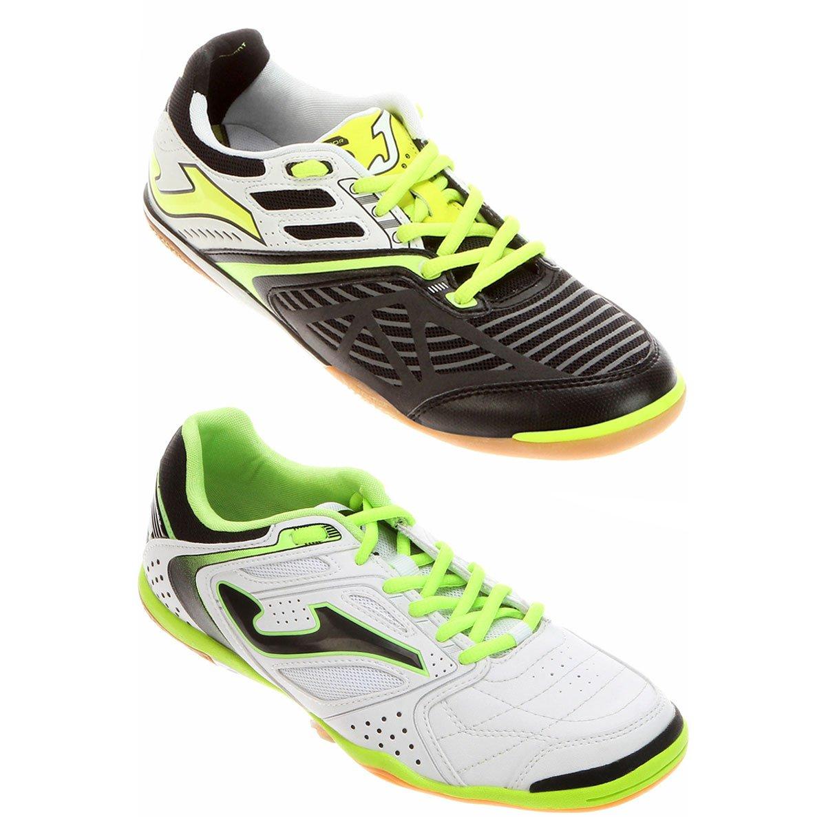 c710c4703d Kit Chuteira Joma Lozano Futsal + Chuteira Joma Dribling Futsal - Compre  Agora
