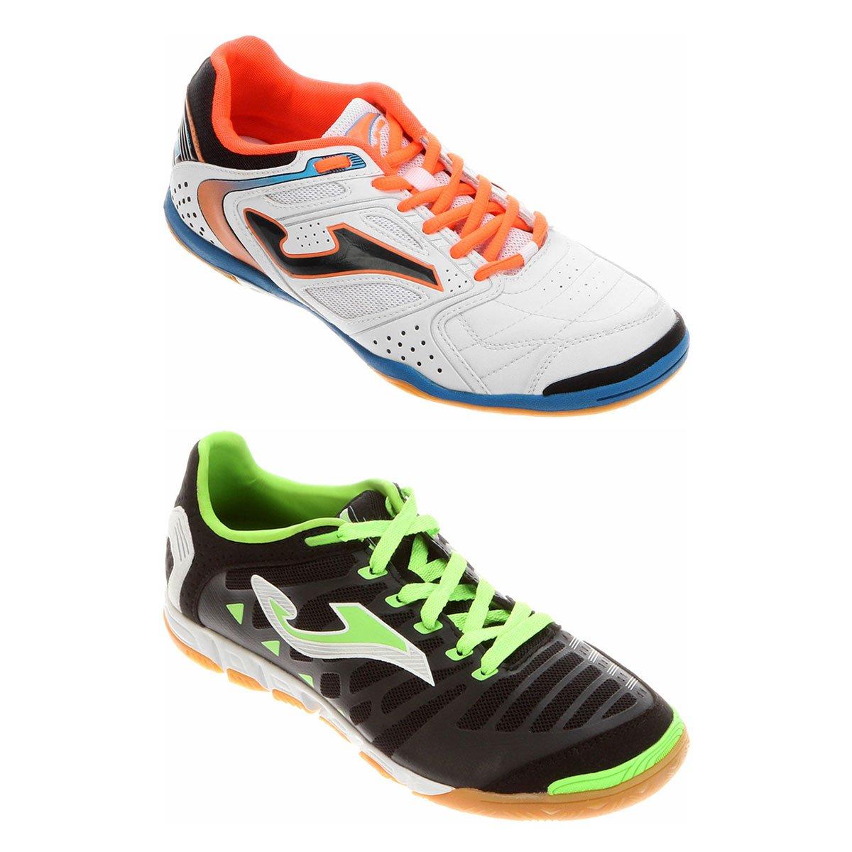 c4d1315be0 Kit Chuteira Joma Super Regate Futsal + Chuteira Joma Dribling Futsal -  Compre Agora