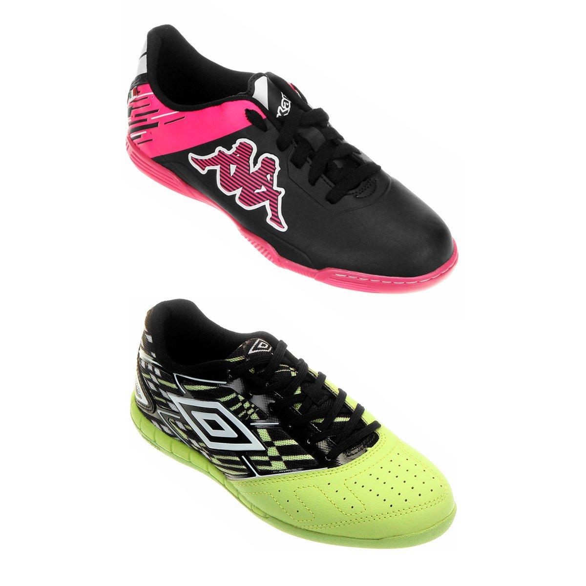 8dc49b9d188b1 Kit Chuteira Kappa Viento Futsal + Chuteira Umbro Diamond Futsal - Compre  Agora
