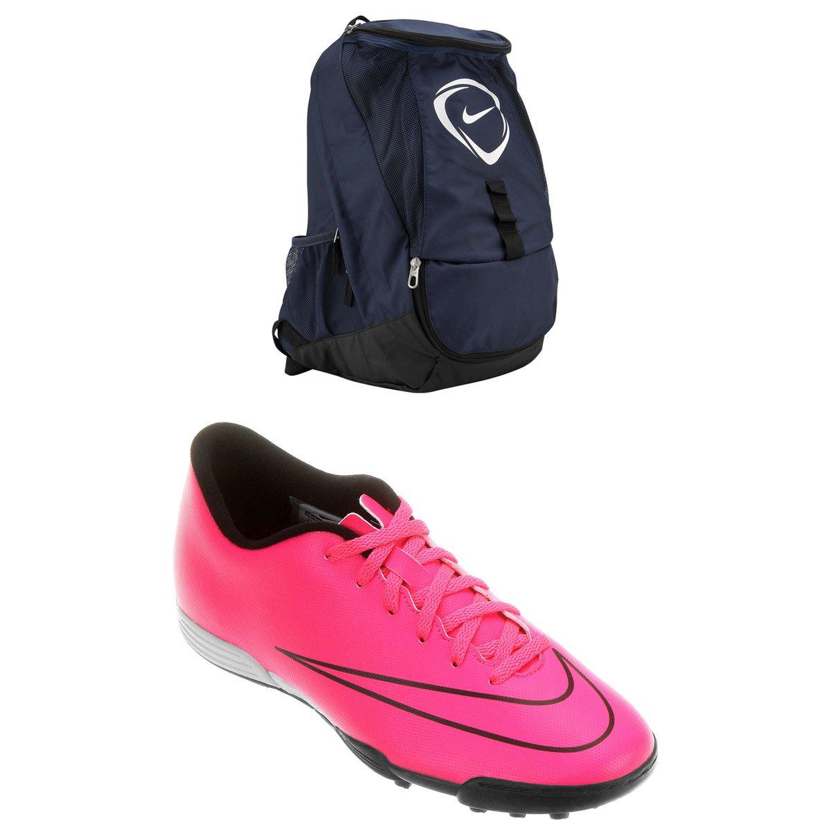 6b44f11ca Kit Chuteira Nike Mercurial Vortex 2 TF Society + Mochila Nike Football  Club Team - Compre Agora | Netshoes