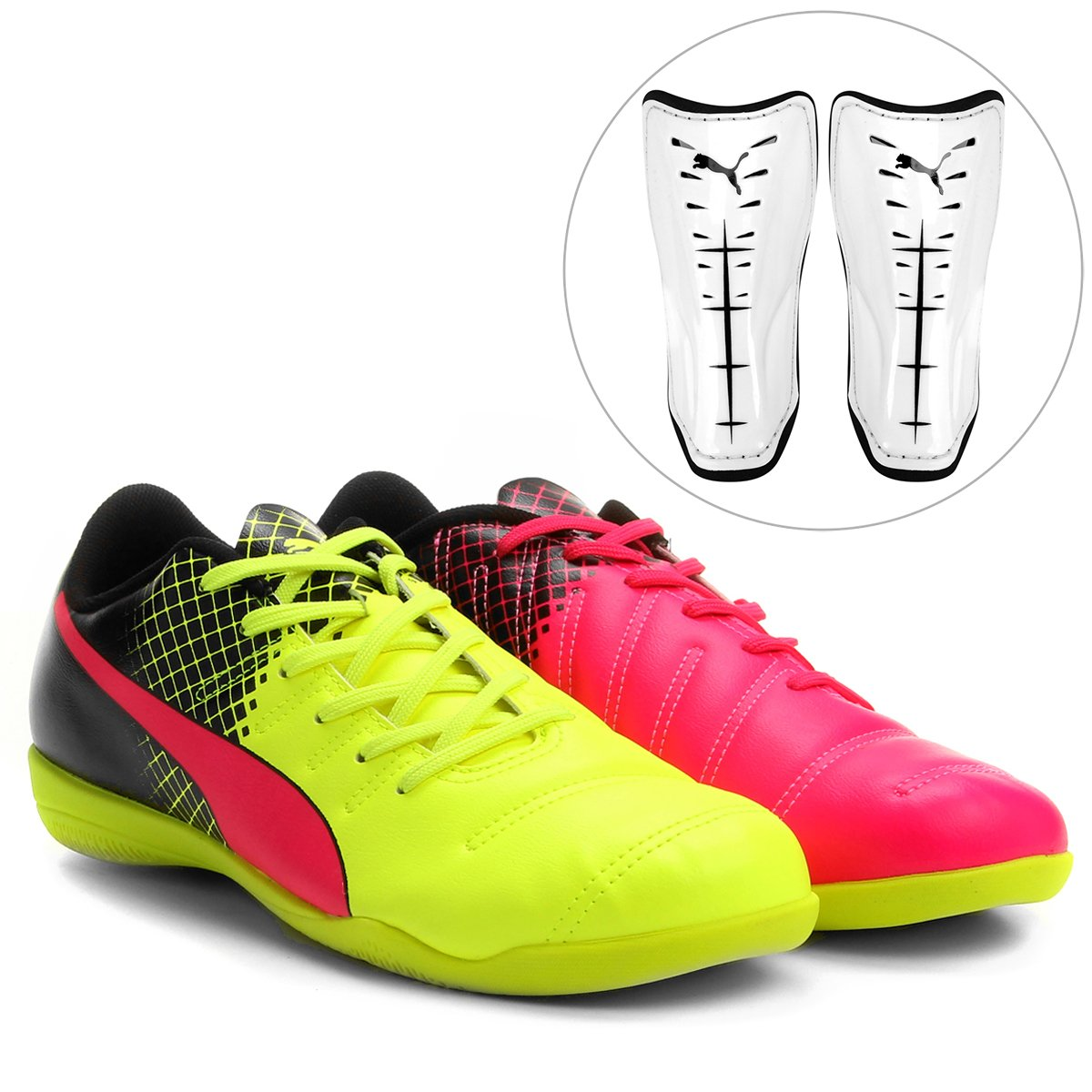 Kit Chuteira Puma Evopower 4.3 Tricks IT Futsal + Caneleira Puma Power  Force 6.11 Slip - Compre Agora  407a4c3f1d504