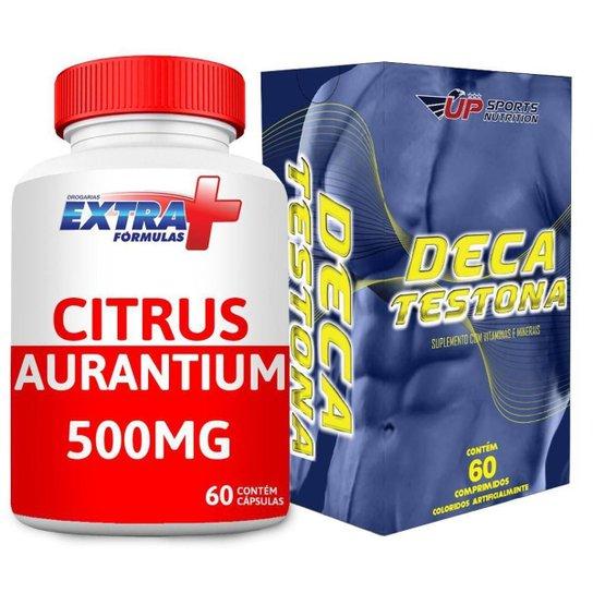 Kit Citrus Aurantium 500mg C/ 60 + Deca Testona C/ 60 -