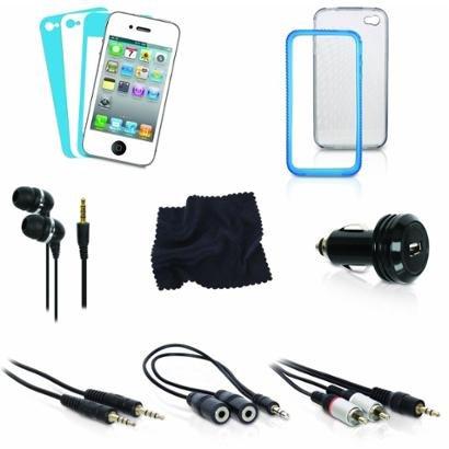 Kit Com 12 Acessórios Para Iphone 4 - Isound - Unissex