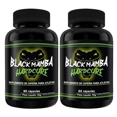 Kit Com 2 Black Mamba Hardcore – 60 Cápsulas – Intlab