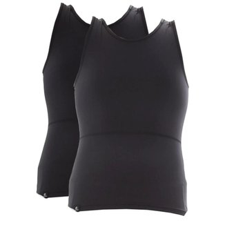 Kit com 2 Cintas Modeladoras Postural Bodyshaper Slim Fitness