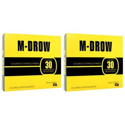 Kit Com 2 M-Drow – 30 Comprimidos Revestidos – Intlab