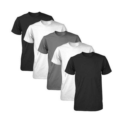 Kit com 5 Camisetas Dry Fit Part.B Fit Masculina