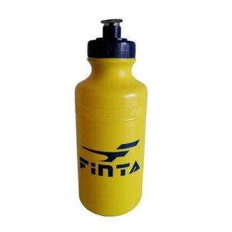 Kit com 6 Squeeze Plástica Finta 500ml Amarelo