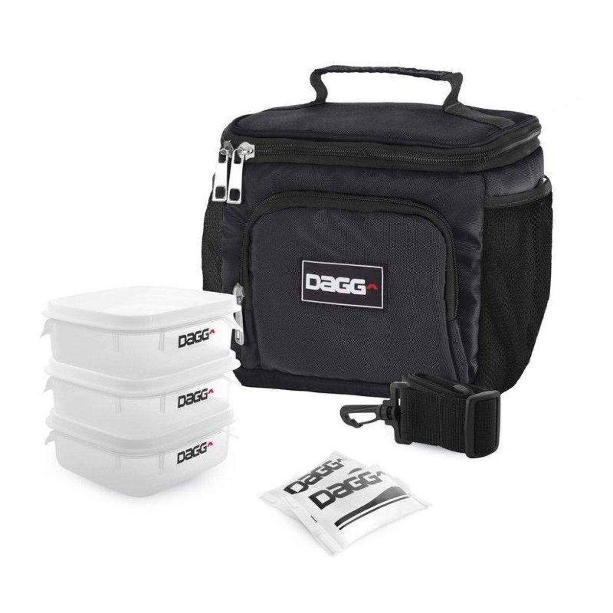 Fitness Kit Dagg Térmica com Kit Preto com Bolsa n4Fa7Zz8q