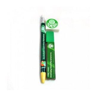 Kit Com Lapiseira 2.0mm + Borracha E s - Palmeiras