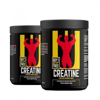 Kit Combo 2x Creatina - 200g - Sem Sabor - Universal Nutrition