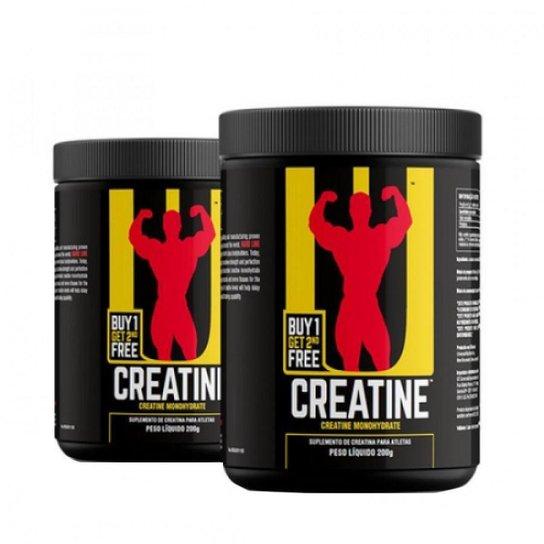 Kit Combo 2x Creatina - 200g - Sem Sabor - Universal Nutrition -