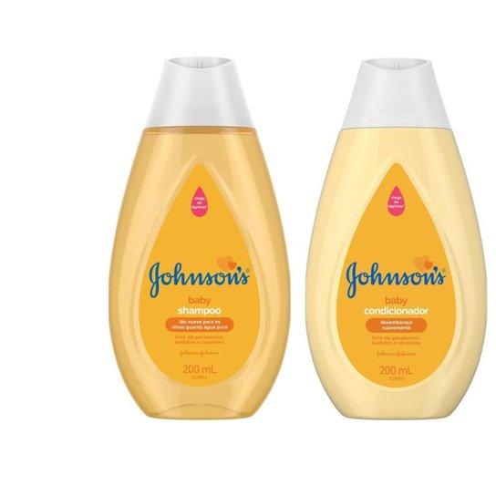 Kit Condicionador Johnson's Baby Regular + Shampoo Johnson's Baby Regular 200ml - Única