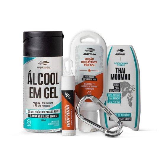 Kit cosmético e proteção total Mormaii - Branco