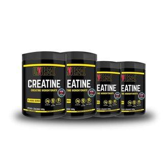 Kit Creatina Monohidratada 1Kg Universal Nutrition