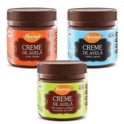 Kit Creme de Avelã Cremoso Flormel