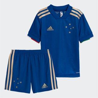 Kit Cruzeiro Infantil I 21/22 s/n° Torcedor Adidas