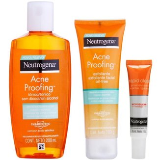 Kit Cuidado Facial Neutrogena
