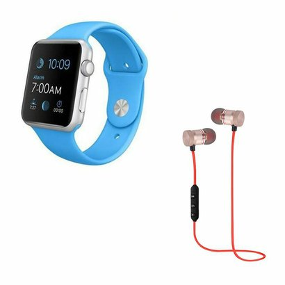 Kit DAGG Relógio Smartwatch e Fone XT-6 Bluetooth Sport Sem Fio