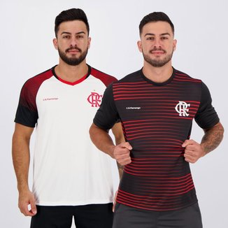 Kit de 2 Camisas Flamengo New Ray